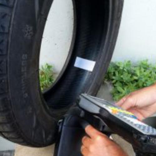 5 Etichete RFID pentru anvelope aplicatie