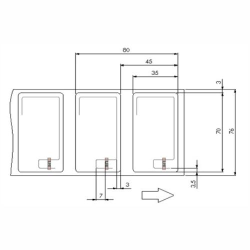 6 Etichete RFID pentru anvelope aplicatie